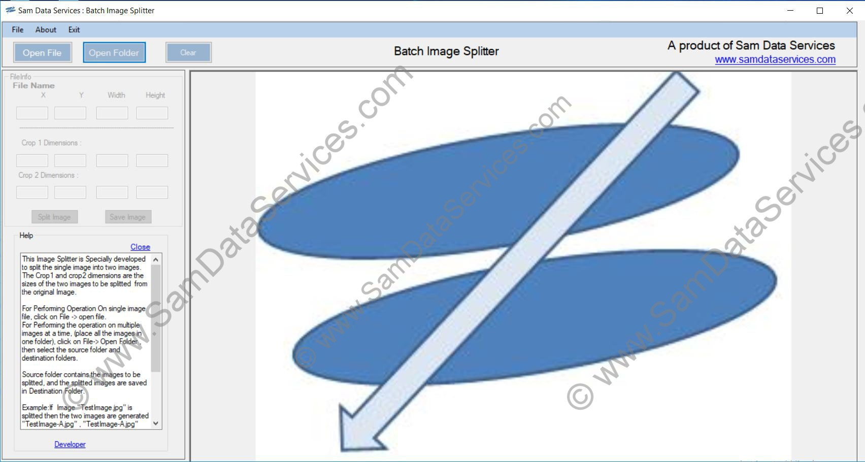 Image Splitter Software